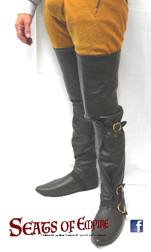 Fifteenth-century riding boots