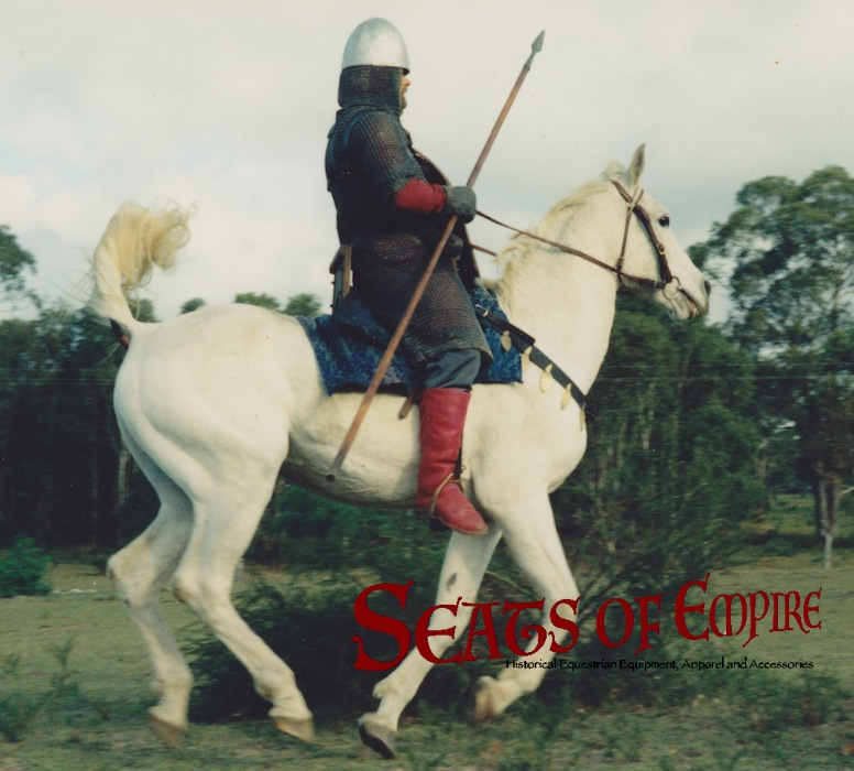 a Norman knight in action